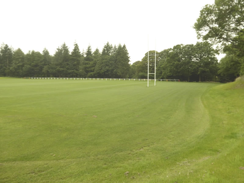 Rugby Pitch Kirkby Lonsdale
